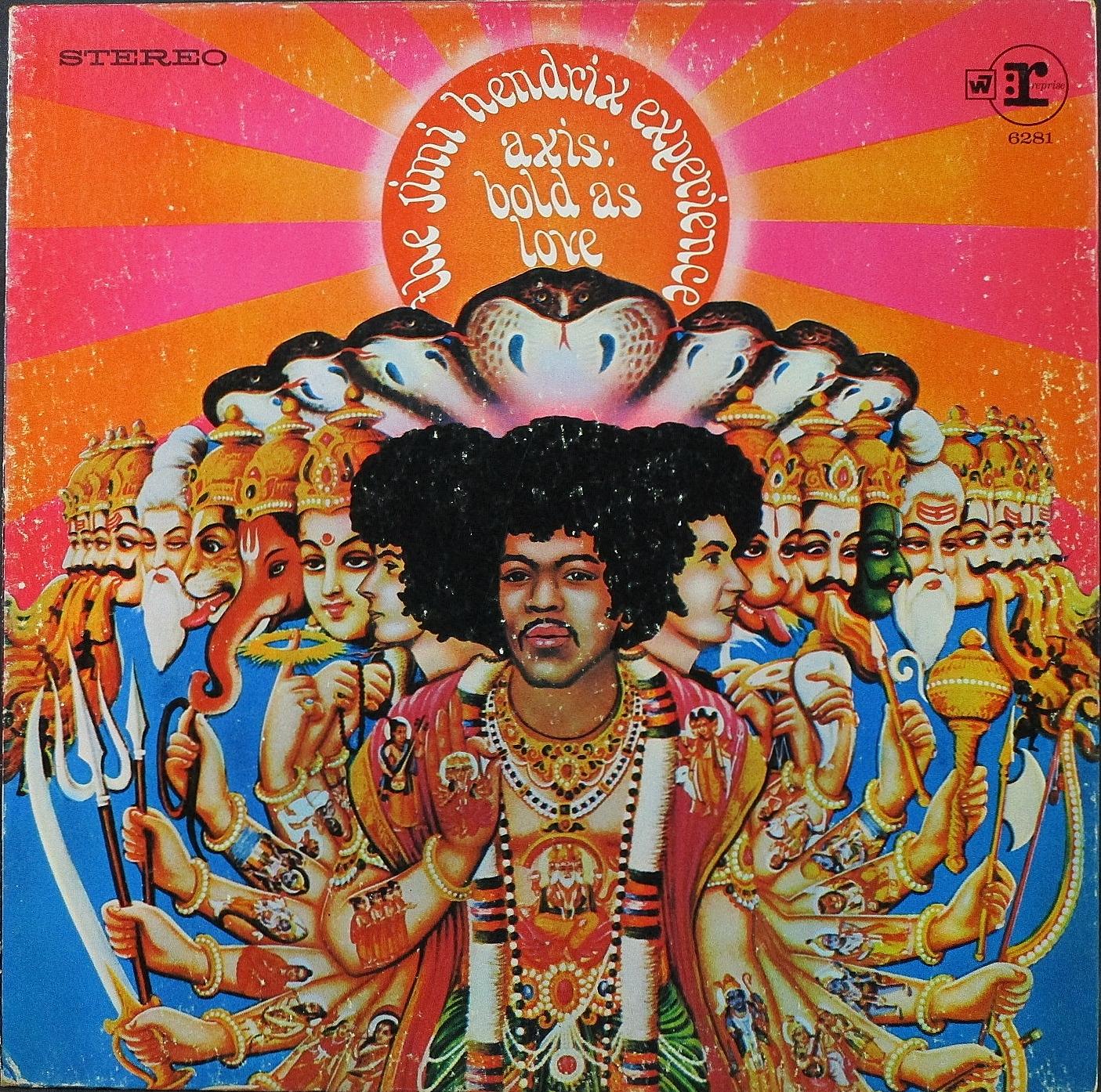 Jimi Hendrix Experience ジミ・ヘンドリックス / Axis: Bold As Love アクシス:ボールド・アズ・ラヴ