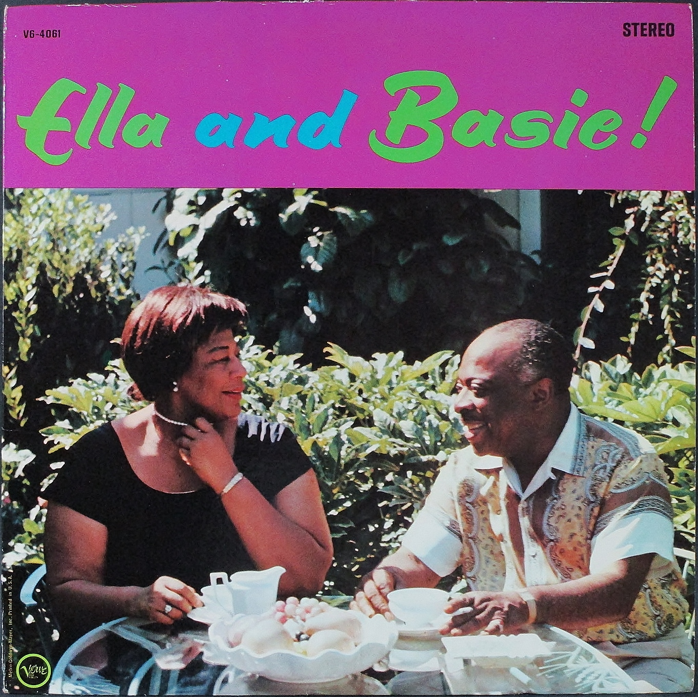 Count Basie - Ella Fitzgerald カウント・ベイシー、エラ・フィッツジェラルド / Ella And Basie!