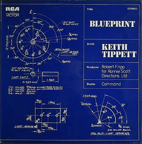 Keith Tippett キース・ティペット / Blueprint
