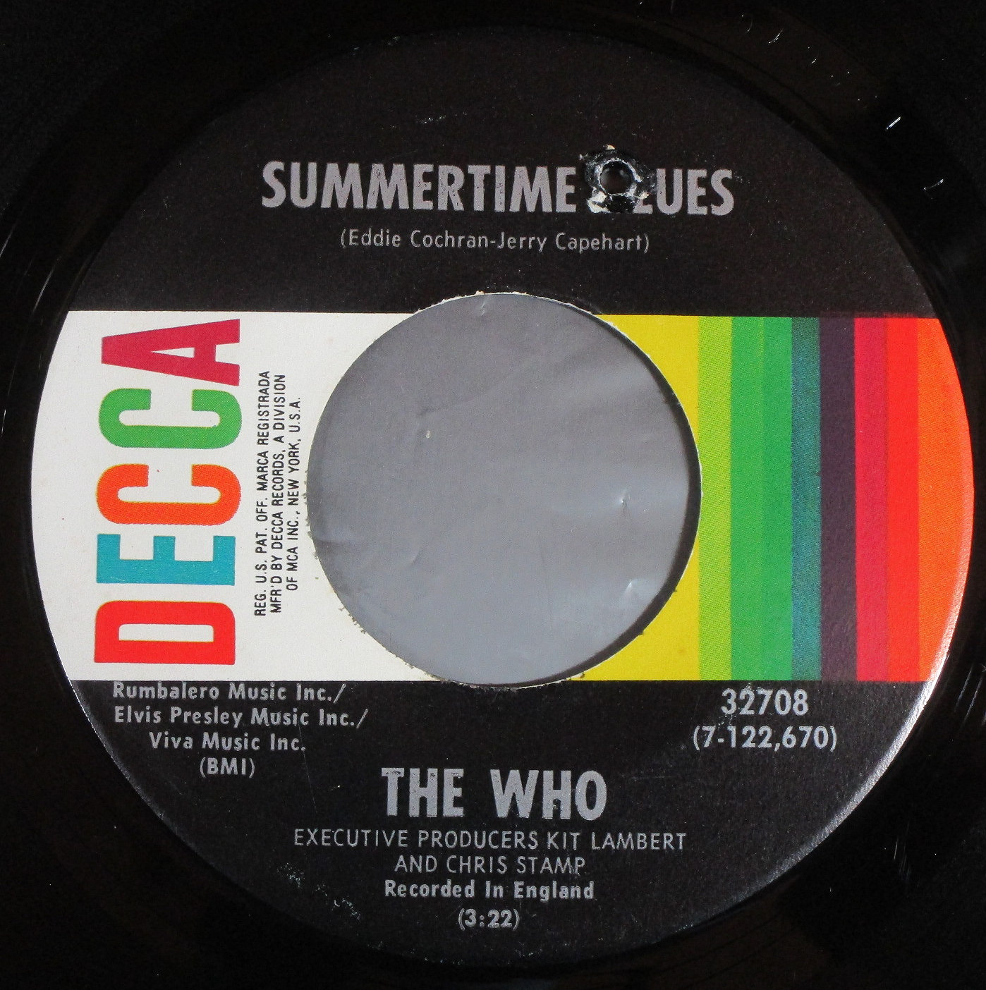 Who  ザ・フー / Summertime Blues | Heaven And Hell