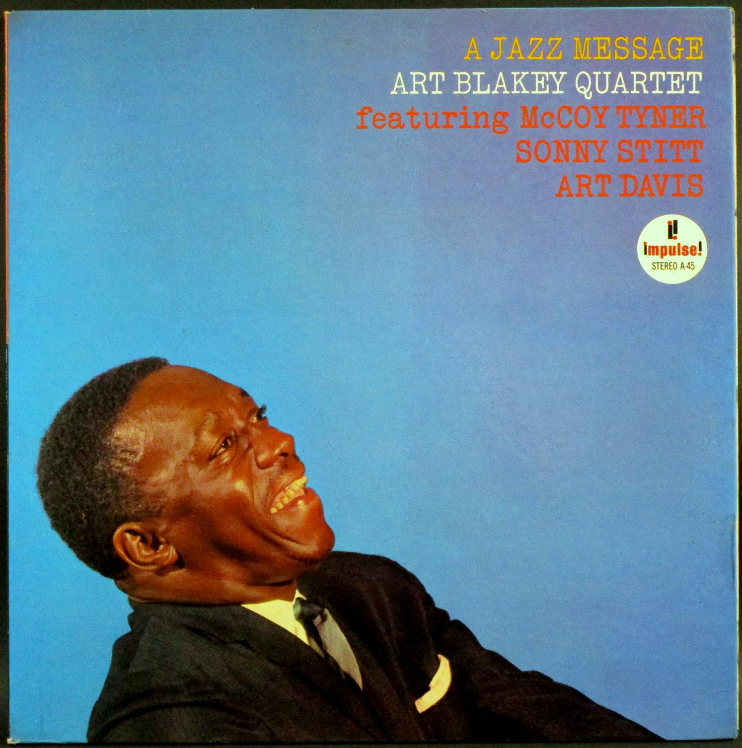 Art Blakey Quartet アート・ブレイキー / A Jazz Message