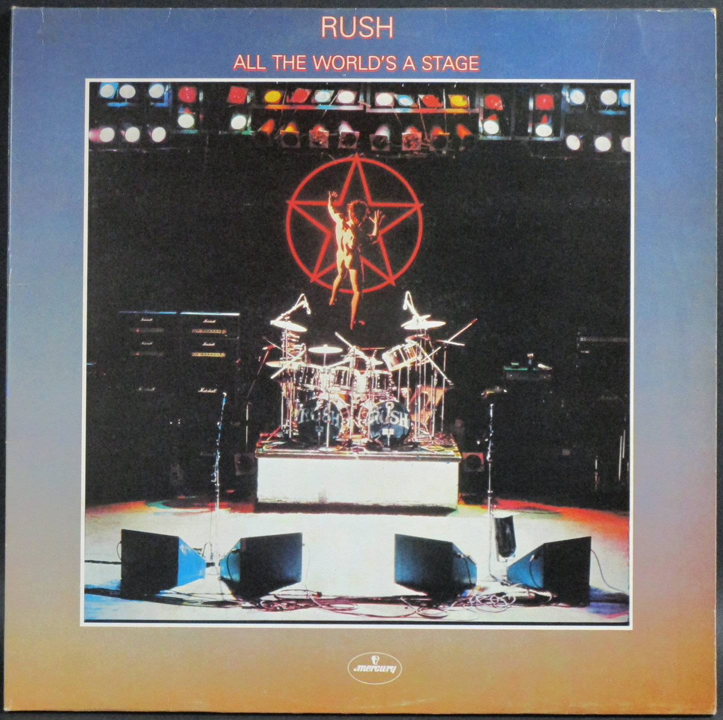 Rush ラッシュ / All The World's A Stage   UK盤