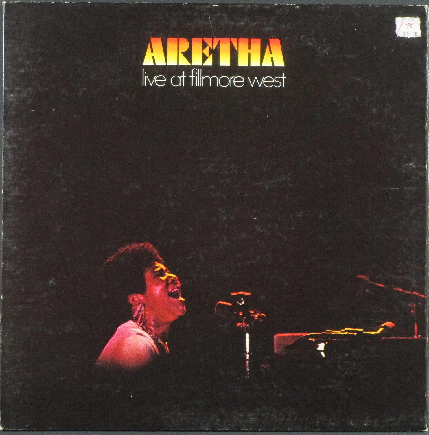 Aretha Franklin アレサ・フランクリン/ Live At Fillmore West