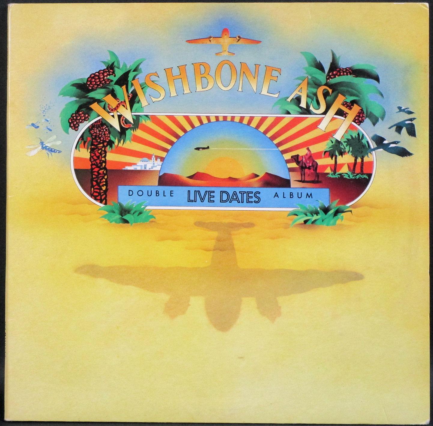 Wishbone Ash ウィッシュボーン・アッシュ / Live Dates ライブ・デイト