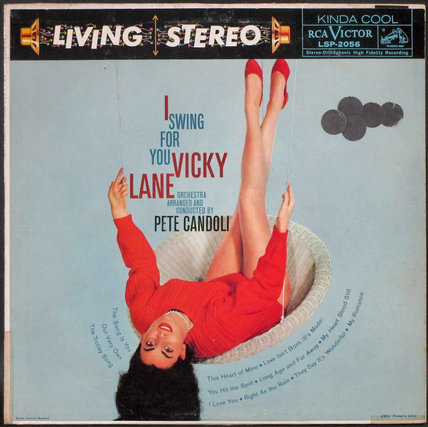 Vicky Laneヴィッキー・レーン / I Swing For You