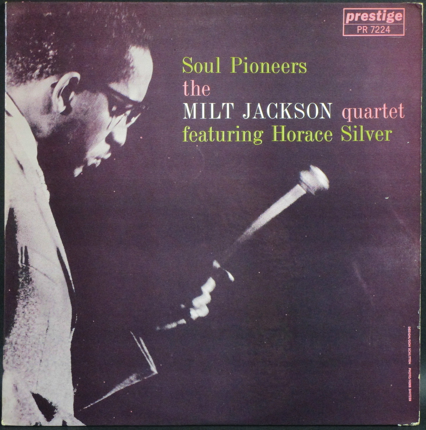 Milt Jackson Quartet Featuring Horace Silver ミルト・ジャクソン / Soul Pioneers
