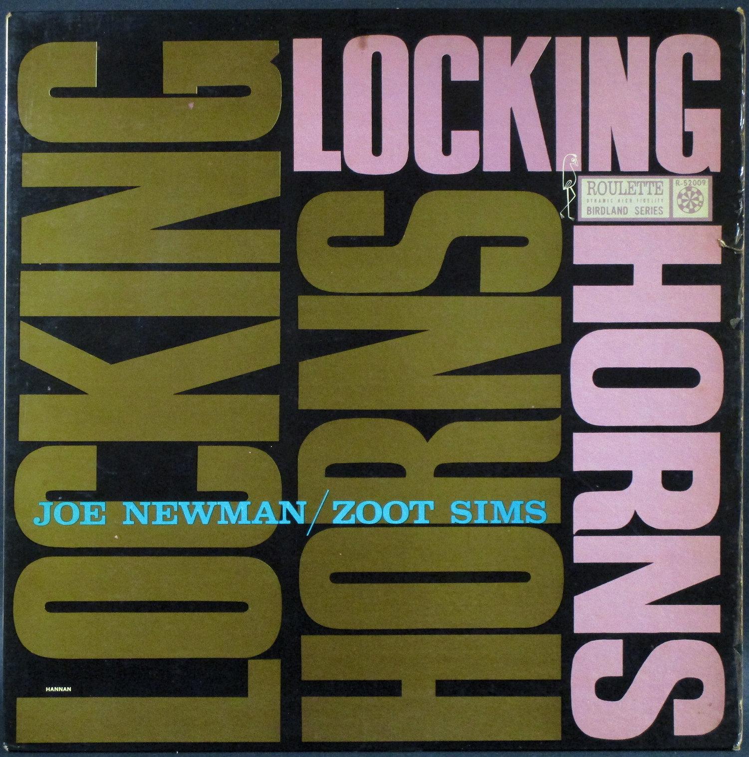 Joe Newman, Zoot Sims ジョー・ニューマン、ズート・シムズ / Locking Horns