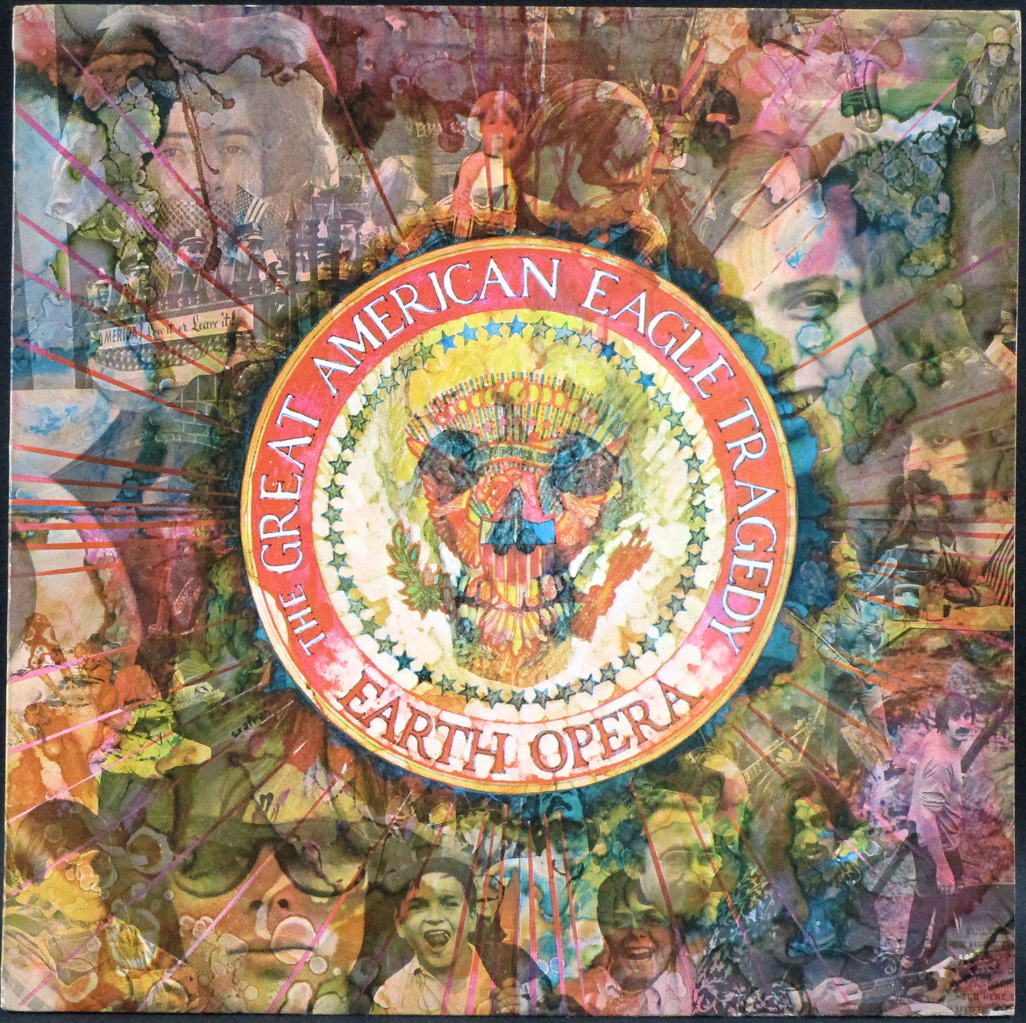 Earth Opera アース・オペラ / The Great American Eagle Tragedy