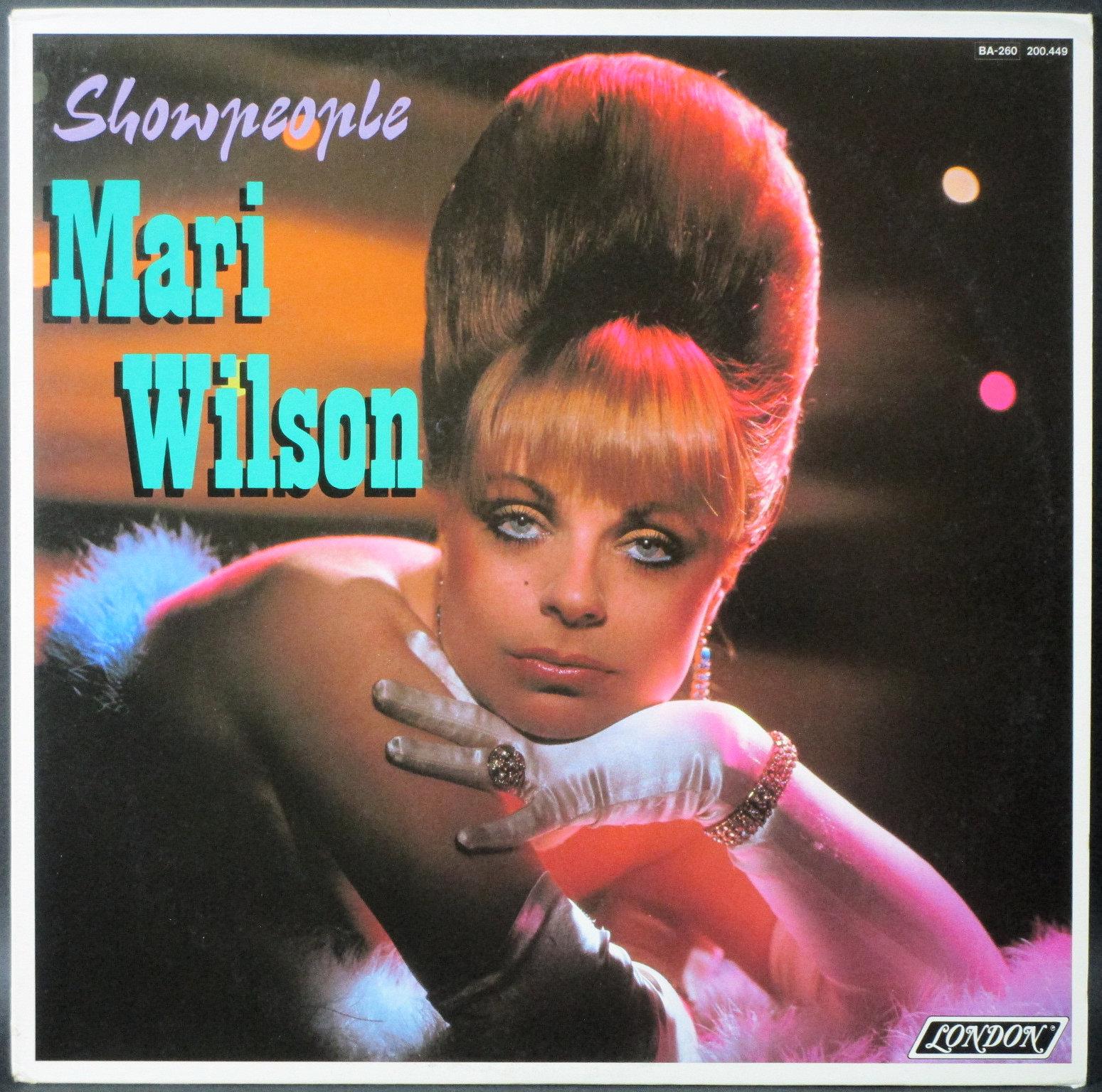 Mari Wilson マリ・ウィルソン / Showpeople