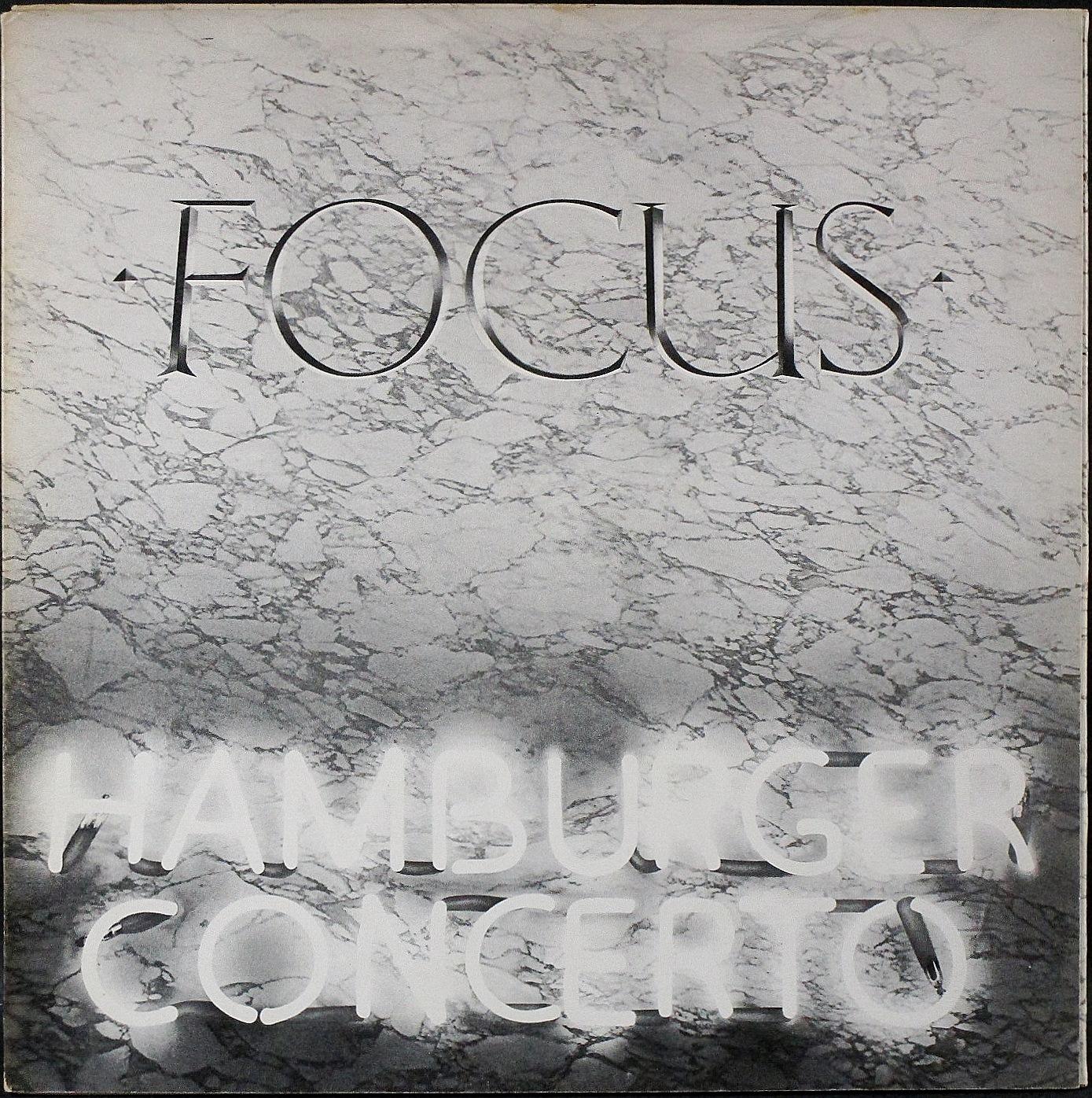 Focus フォーカス / Hamburger Concerto ハンバーガー・コンチェルト UK盤