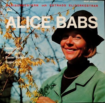 Alice Babs アリス・バブス / Parisorkestern Och Estrads Elitorkestrar Med Alice Babs