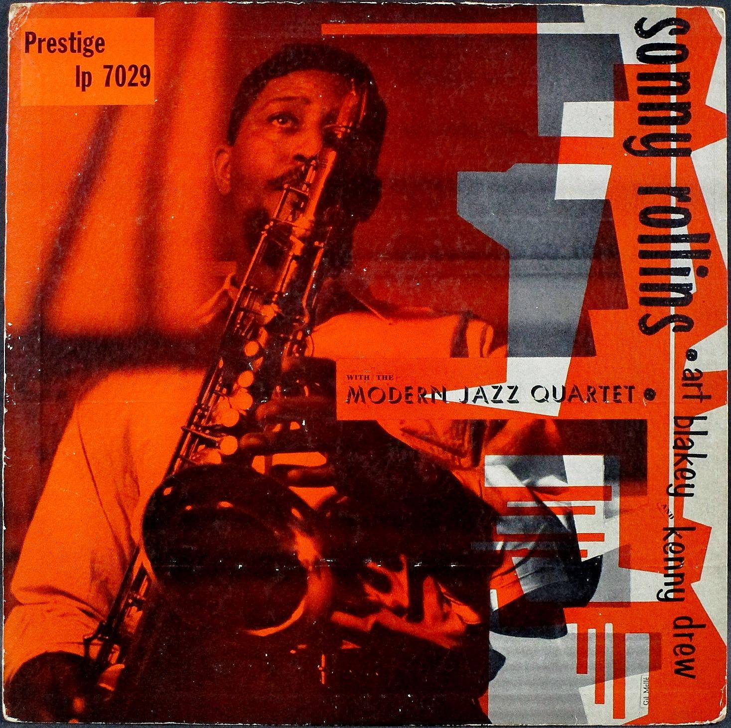 Sonny Rollins ソニー・ロリンズ / Sonny Rollins With The Modern Jazz Quartet