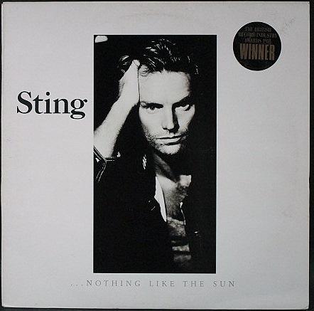 Sting スティング / Nothing Like The Sun ナッシング・ライク・ザ・サン