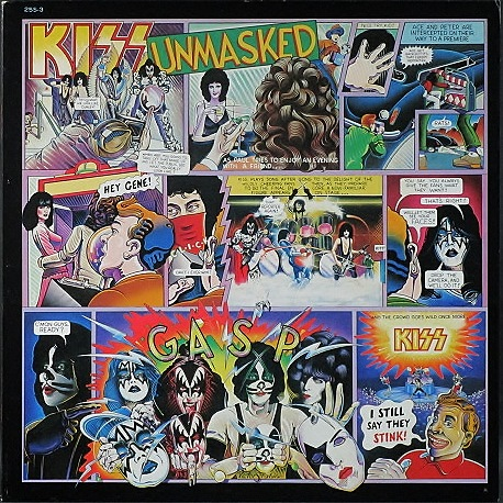 Kiss キッス / Unmasked 仮面の正体