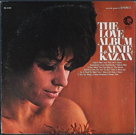 Lainie Kazan レイニー・カザン / The Love Album