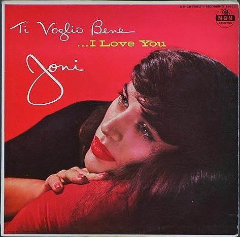 Joni James ジョニ・ジェイムス / Ti Voglio Bene ...I Love You
