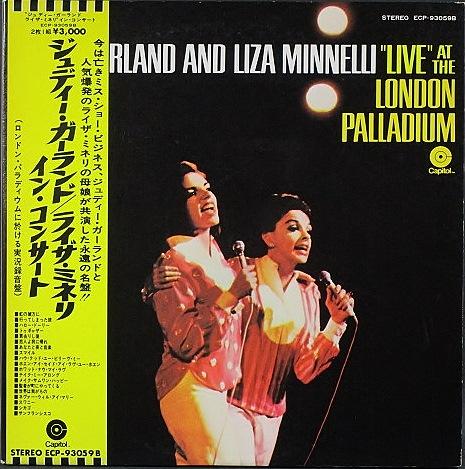"Judy Garland / ""Live"" At The London Palladium ジュディ・ガーランド/ライザ・ミネリ イン・ コンサート"