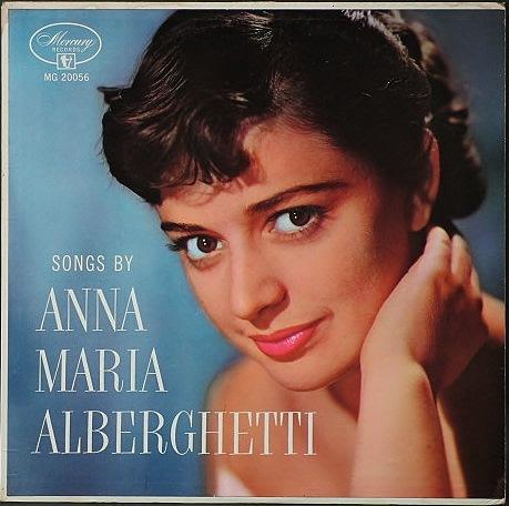 Anna Maria Alberghetti アナ・マリア・アルバゲッティ / Songs By Anna Maria Alberghetti