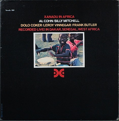 Al Cohn & Billy Mitchell アル・コーン、ビリー・ミッチェル / Xanadu In Africa