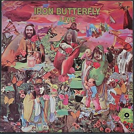 Iron Butterfly アイアン・バタフライ / Live