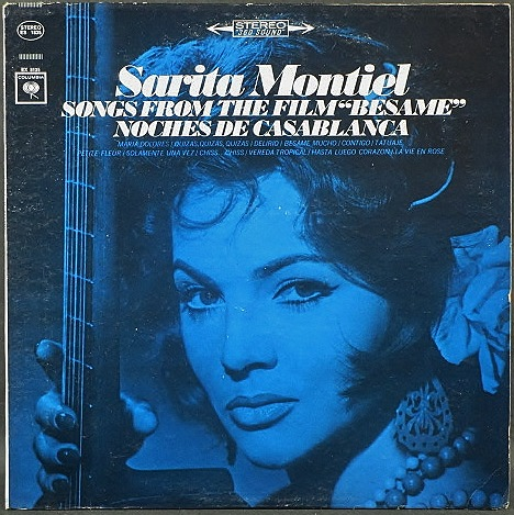 "Sarita Montiel サラ・モンティエル / Songs From The Film ""Besame"" - Noches De Casablanca"