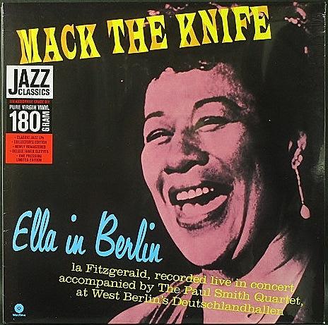 Ella Fitzgerald エラ・フィッツジェラルド / Mack The Knife - Ella In Berlin マック・ザ・ナイフ エラ・イン・ベルリン