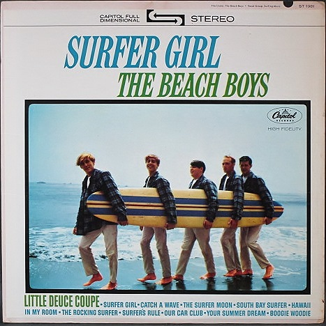 Beach Boys ビーチ・ボーイズ / Surfer Girl
