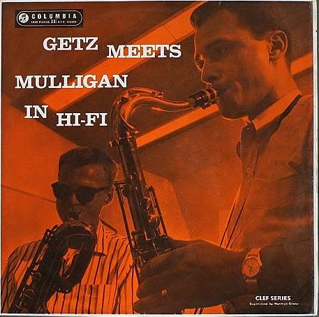 Stan Getz Meets Gerry Mulligan スタン・ゲッツ・ミーツ・ジェリー・マリガン / Getz Meets Mulligan 英国盤