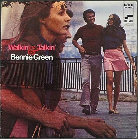Bennie Green ベニー・グリーン / Walkin' And Talkin' 2nd cover