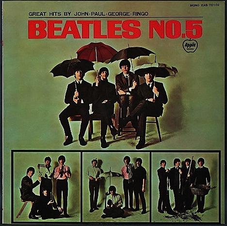 Beatles ザ・ビートルズ / Beatles No.5! JP盤