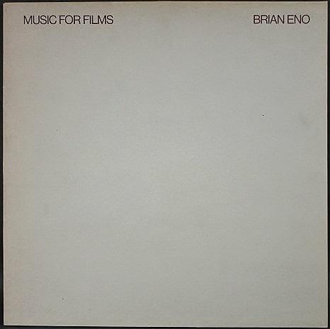 Brian Eno ブライアン・イーノ / Music For Films UK盤