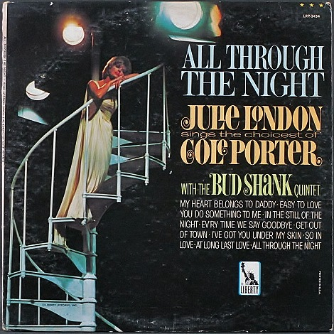 Julie London ジュリー・ロンドン / All Through The Night