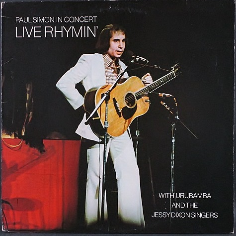 Paul Simon ポール・サイモン / Paul Simon In Concert Live Rhymin'