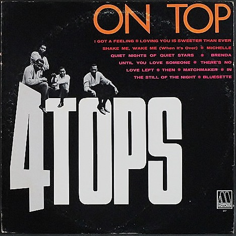 Four Tops フォー・トッップス / Four Tops On Top