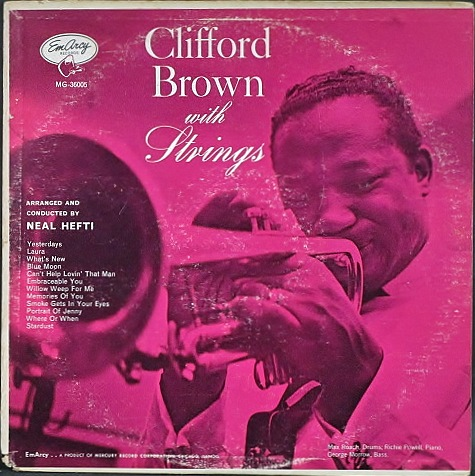 Clifford Brown クリフォード・ブラウン / With Strings ウィズ・ストリングス