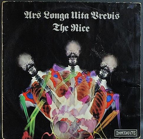 Nice ザ・ナイス / Ars Longa Vita Brevis アルス・ロンガ・ヴィタ・ブレヴィス UK盤