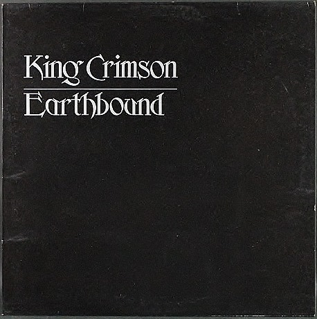 King Crimson キング・クリムゾン / Earthbound アースバウンド UK Orig.