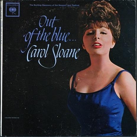 Carol Sloane キャロル・スローン / Out Of The Blue アウト・オブ・ザ・ブルー | Promo