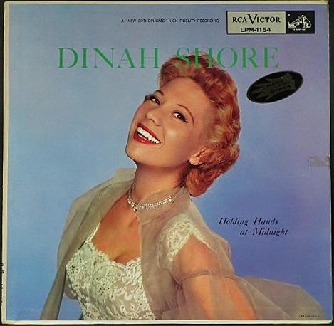 Dinah Shore ダイナ・ショア / Holding Hands At Midnight