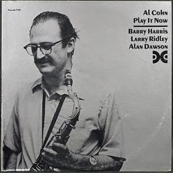 Al Cohn アル・コーン / Play It Now