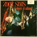 米国盤 Zoot Sims ズート・シムズ / Zoot Sims Plays Four Altos