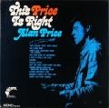 Alan Price アラン・プライス / This Price Is Right ディス・プライス・イズ・ライト US盤
