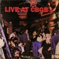 VA:Tuff Darts, Shirts, Mink DeVille 他  / Live At CBGB's (The Home Of Underground Rock) ライブ・アット・シービージービー