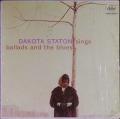 米国盤 Dakota Staton ダコタ・ステイトン / Sings Ballads And The Blues
