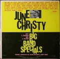 June Christy ジューン・クリスティ / Big Band Specials