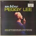 Peggy Lee ペギー・リー / So Blue ソー・ブルー