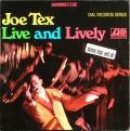 US盤 Joe Tex ジョー・テックス / Live And Lively