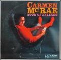 Carmen McRae カーメン・マクレエ / Book Of Ballads