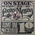 Loggins And Messina ロギンス&メッシーナ / On Stage オン・ステージ UK盤
