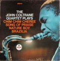 John Coltrane ジョン・コルトレーン / The John Coltrane Quartet Plays